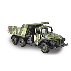 Χαμηλού Κόστους Toy Trucks & Τεχνικά Οχήματα-Στρατιωτικό όχημα / Ανατρεπόμενο φορτηγό Παιχνίδια φορτηγά και κατασκευαστικά οχήματα / Παιχνίδια αυτοκίνητα / Οχήματα οπίσθιας έλξης 1:10 Πρωτότυπες Μεταλλικό Αγορίστικα Παιδικά Παιχνίδια Δώρο
