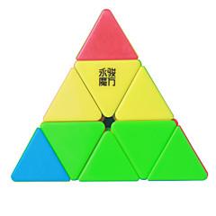 billiga Leksaker och spel-Rubiks kub YongJun MoYu Pyraminx 3*3*3 Mjuk hastighetskub Magiska kuber Pusselkub professionell nivå Len Färgglad Present Klassisk &