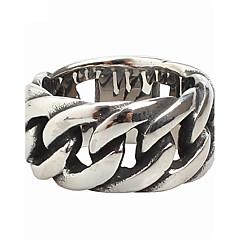 男性用 指輪 コスチュームジュエリー チタン鋼 ジュエリー 用途 パーティー 日常 カジュアル