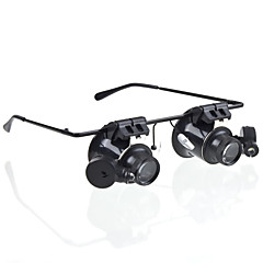 20 Magnifiers/Magnifier Glasses Generic Headset/Eyewear Jewelry General use Money Detector Watch Repair Equipment & Tools Multi-coated