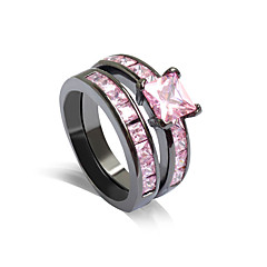 cheap Rings-Women's Ring - Stylish Rose Pink Ring For Wedding / Party / Party / Evening / Daily