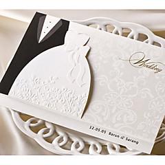 Tri-Fold Wedding Invitations 50-Invitation Cards Classic Style Card Paper