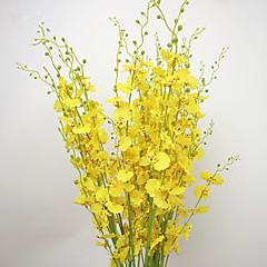 ieftine -10 ramură Mătase Orhidee Flori artificiale