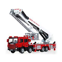 tanie Gry i zabawki-KDW Wóz strażacki Pojazdy budowlane i ciężarówki Samochodziki do zabawy Rozwijany Metalowy Plastik ABS 1 pcs Dla dzieci Dla chłopców Dla dziewczynek Zabawki Prezent