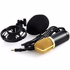 Professional BM-700 Condenser KTV Microphone BM700 Cardioid Pro Audio Studio Vocal Recording Mic KTV Karaoke+ Metal Shock Mount ワイヤード