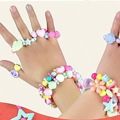 Lievittää stressiä Muuttumisleikit DIY-setti Opetuslelut Lelut Bracelet DIY Lasten 1 Pieces