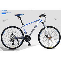 אופני הרים רכיבת אופניים 30 מהיר 700CC/26 אינץ' מיקרושיפט דיסק בלימה שמן מזלג שיכוך שלדת סגסוגת אלומיניום רגיל נגד החלקה אלומיניום