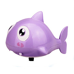 preiswerte Wasserspielzeug-Wasserspielzeug Aufziehbare Spielsachen Bath Toy Spielzeuge Neuartige Fische Shark Kunststoff Stücke Karneval Kindertag Geschenk