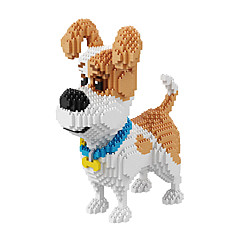 BALODY Bausteine Spielzeuge Spielzeuge Hunde Diamant Filmcharaktere 2100 Stücke
