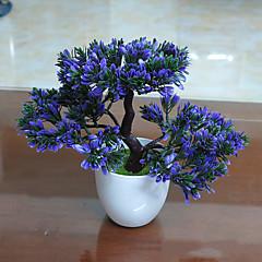 ieftine -1 ramură Poliester Plante Față de masă flori Flori artificiale 26