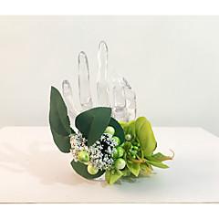 """Flori de Nuntă Legat Manual Corsaj de mână Nuntă Petrecere / Seară Flori Uscate 7.09""""(Approx.18cm)"""