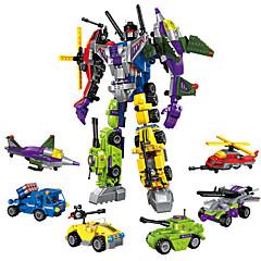 ENLIGHTEN Robotti Rakennuspalikat Lelut Lelut Soturi Ompelukone Robotti Asevoimat muuntuva Poikien Tyttöjen Pojat 506 Pieces