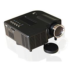 LCD QVGA (320x240) Projetor,LED 500 Mini Projetor