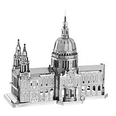 preiswerte -3D - Puzzle Holzpuzzle Metallpuzzle Modellbausätze Berühmte Gebäude Kirche Architektur Dom Heimwerken Kreativ Klassisch & Zeitlos Schick