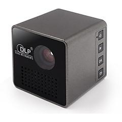 DLP nHD (640x360) Projetor,LED 15/30 Mini Portátil HD DLP Projetor