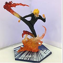 halpa -Anime Toimintahahmot Innoittamana One Piece Sanji 15.5 CM Malli lelut Doll Toy