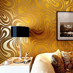 billige Tapet-Blomster Tapet til Hjemmet Moderne Tapetsering , Ikke vævet papir Materiale selvklebende nødvendig bakgrunns , Tapet