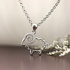 Pingentes Prata de Lei Imitações de Diamante Básico Animal Jóias de Luxo Jóias Para Diário Casual 1peça