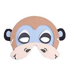 tanie Zabawki nowoczesne i żartobliwe-Maska zwierzęca Małpa Plastik Unisex Dla chłopców Dla dziewczynek Zabawki Prezent 1 pcs