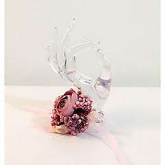 """Flori de Nuntă Rotund Legat Manual Corsaj de mână Nuntă Petrecere / Seară Flori Uscate 8.27""""(Approx.21cm)"""