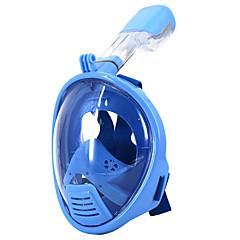 Tauchmasken Schwimmbrille Maske zum Schnorcheln Wasserfest Vollgesichtsmaske 180 Grad Auslaufsicher Tauchen und Schnorcheln Silikon für