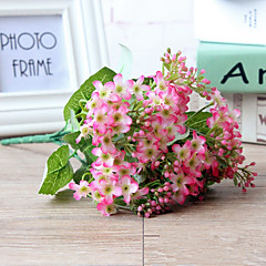 ieftine -1 buchet de mătase stea forma flori floare artificială multicolor opțional