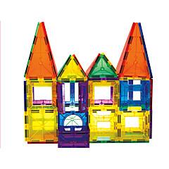 אבני בניין בלוקים מגנטיים מגדיר בניין מגדיר מכוניות צעצוע צעצועים טירה ארכיטקטורה לא מפורט חתיכות