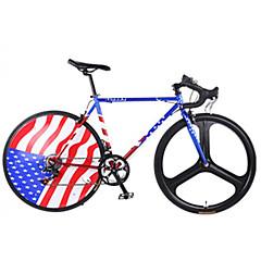 billige Sykler-Faststående redskap sykler Sykling 14 Trin 26 tommer (ca. 66cm) / 700CC SHIMANO TX30 V-bremse Ikke dempende Ikke dempende Aluminium / Anti-Skli Stål