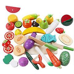 Hrajeme si na... Toy kuchyňských sestav Toy Foods Hračky Kachna Zelenina Friut Dětské 25 Pieces