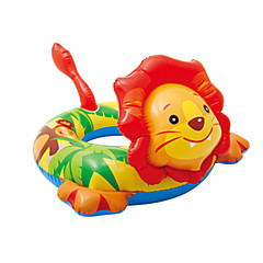 billiga Uppblåsbara badringar och badmadrasser-Lejon Uppblåsbara badflottar Badringar med donut-form pvc Barn