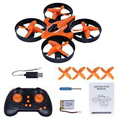 billige Fjernstyrte quadcoptere og multirotorer-RC Drone HC625 4 Kanaler 6 Akse 2.4G 0.3MP 640P*480P Fjernstyrt quadkopter LED Lys / En Tast For Retur / Feilsikker Fjernstyrt Quadkopter