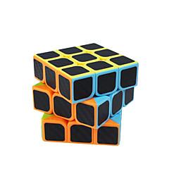 tanie Kostki Rubika-Kostka Rubika Włókno węglowe 3*3*3 Gładka Prędkość Cube Magiczne kostki Puzzle Cube Matowe Kwadrat Prezent Dla obu płci