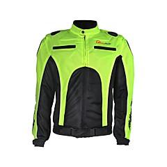 tanie Kurtki motocyklowe-RidingTribe Ceket Nylon PU Leather Na każdą porę roku Oddychająca Větruodolné Motocykle paski nerkowe