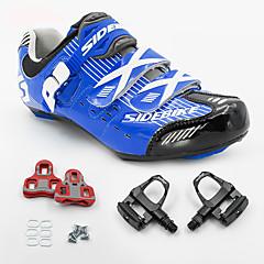 BOODUN/SIDEBIKE® Tênis Tênis para Ciclismo Sapatos para Ciclismo Sapatilhas de Ciclismo com Travas & Pedal UnisexoAlmofadado Ultra Leve