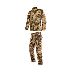cheap Hunting & Nature-Men's Women's Unisex Long Sleeves Hunting Jacket with Pants Breathable Comfortable Camouflage Clothing Suits for Hunting S M L XL XXL
