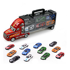 Veículos de Metal Carros de brinquedo Brinquedos Caminhão Brinquedos Liga de Metal Metal 12 Peças Dom