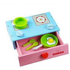 Hrajeme si na... Sada na domácí tvoření Toy kuchyňských sestav Hračka nádobí a čajové soupravy Hračky Kulatý Zelenina Friut Dětské Pieces
