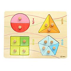 Holzpuzzle Spielzeuge Quadratisch Ente Unisex Jungen Stücke