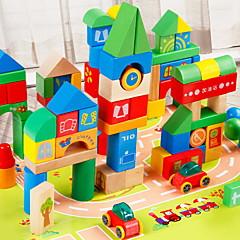 Bausteine Bildungsspielsachen Spielzeuge Burg Stücke Kinder Geschenk