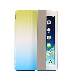 Für mit Halterung Automatischer Ruhe/Aktivmodus Flipbare Hülle Origami Hülle Handyhülle für das ganze Handy Hülle Farbverläufe HartPU -