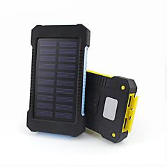 baratos Baterias Externas-Para Bateria externa do banco de potência 5 V Para # Para Carregador de bateria Prova-de-Água / Lanterna / Output Múltiplo LED