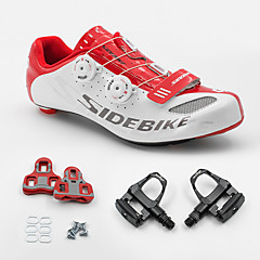BOODUN/SIDEBIKE® Sneakers Road Bike Shoes With Pedal & Cleats Unisex Cushioning Outdoor Road Bike PU Rubber Cycling