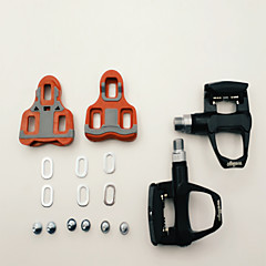 billiga Cykeldelar-Pedaler Racercykel Anti-halk Aluminiumlegering - 1 pcs Svart