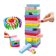 abordables -Blocs de Construction Jouet Educatif Jeux d'Empilage Jouets Pièces Enfant Cadeau