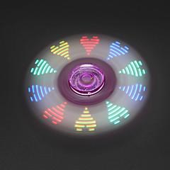Handkreisel Handspinner Spielzeuge Tri-Spinner LED Spinner Stress und Angst Relief Büro Schreibtisch Spielzeug Zum Töten der Zeit Fokus