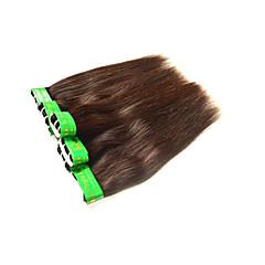 billige Remy fletninger af menneskehår-Remy hår Remy fletninger af menneskehår Lige Indisk hår 300 g 6 måneder
