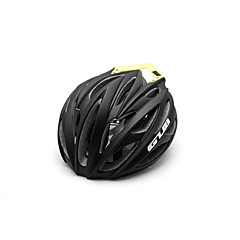男女兼用 バイク ヘルメット 26 通気孔 サイクリング サイクリング マウンテンサイクリング ロードバイク ワンサイズ PC EPS 炭素繊維 + EPS ブラック