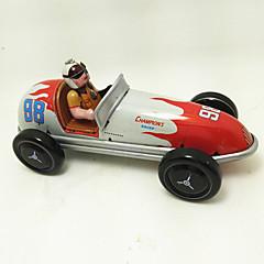 Opwindspeelgoed Speelgoedauto's Racewagen Speeltjes Strijdwagen Retro Kinderen 1 Stuks