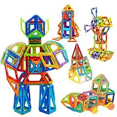 tanie Klocki magnetyczne-Blok magnetyczny Klocki Zabawka edukacyjna 98 pcs Magnetyczne Dla chłopców Dla dziewczynek Zabawki Prezent