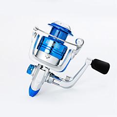 זול גלילי דיג-גלגלת לדיג בקרח גלילי דיג רולר לדיג קרפיון סלילי טווייה 5.21 יחס ציוד+10 מיסבים כדוריים אוריינטציה יד ניתן להחלפה הטלת פיתיון דיג קרח
